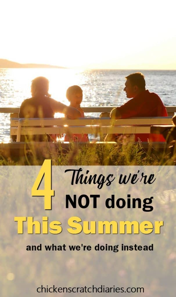 Saving money and enjoying the simple life in summertime while still creating priceless memories - it can be done! #Summertime #Budgeting #FamilyActivities