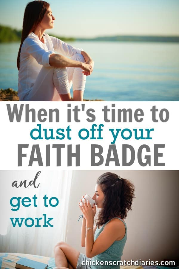 Faith in action - why it's necessary to exercise it, not sit on it! #Faith #Christian #Purpose