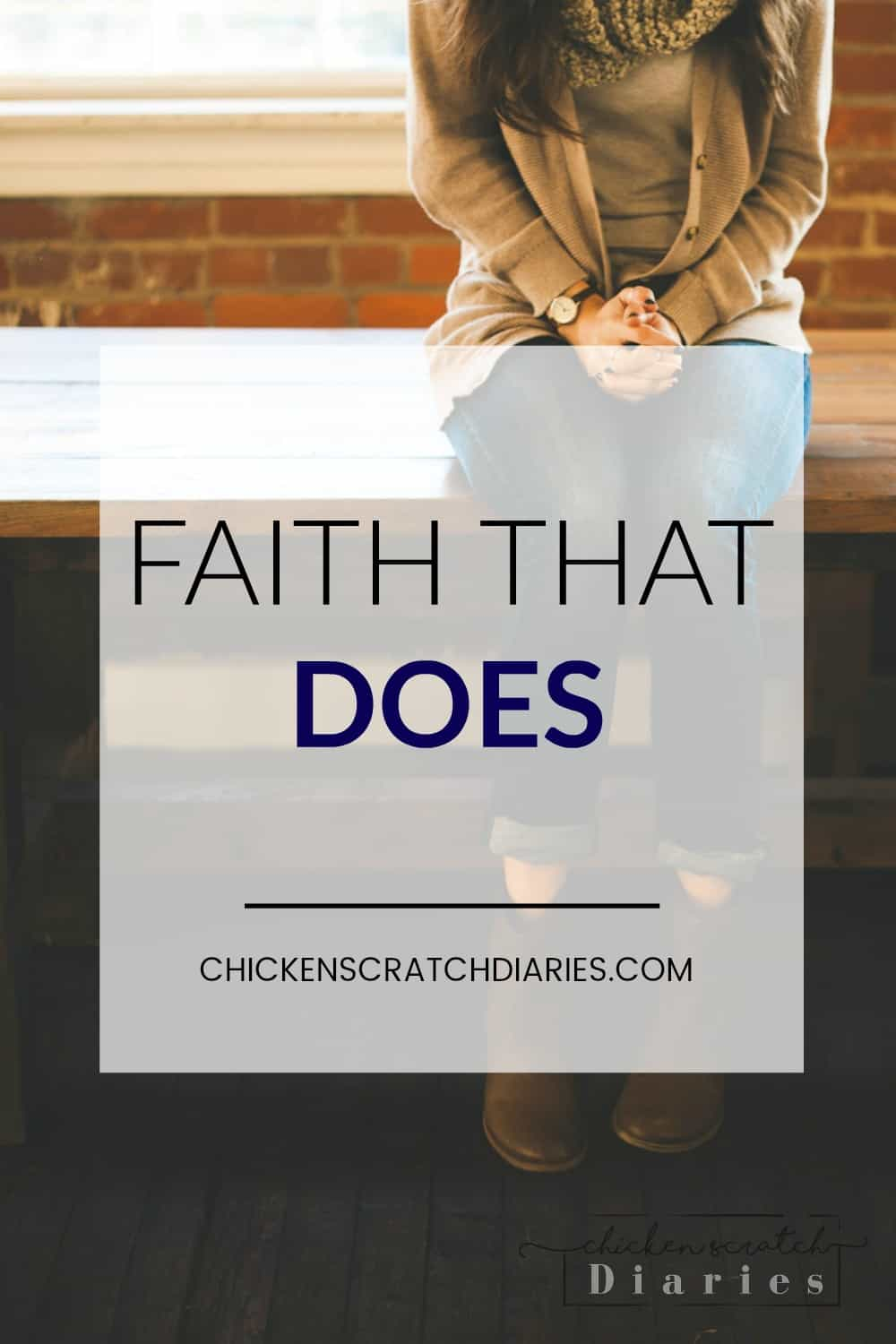 Faith in action - does your faith shine in trials or get buried under pressure? #Faith #Christian #Women #Inspiration