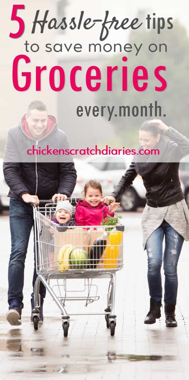 Grocery savings tips - no coupons required! #SaveMoney #Groceries #OnlineShopping #Budgeting