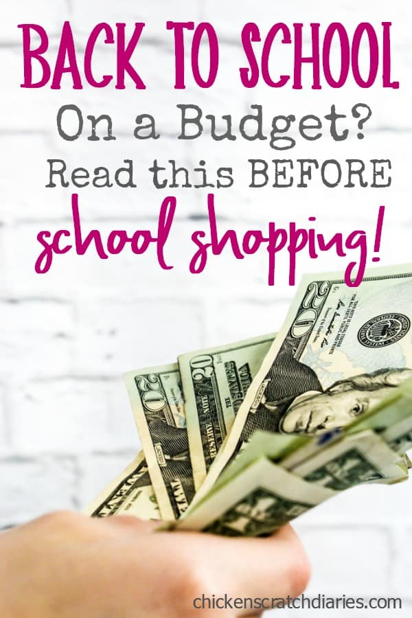 Back to School - budgeting tips you NEED to read! #BackToSchool #Budgeting #Kids