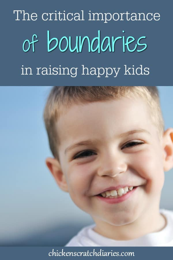 Setting limits and holding to boundaries is NOT an instinct for most parents. We have to practice it if we want happy kids! #Boundaries #Disciplines #SettingLimits #ChristianParenting #HappyKids