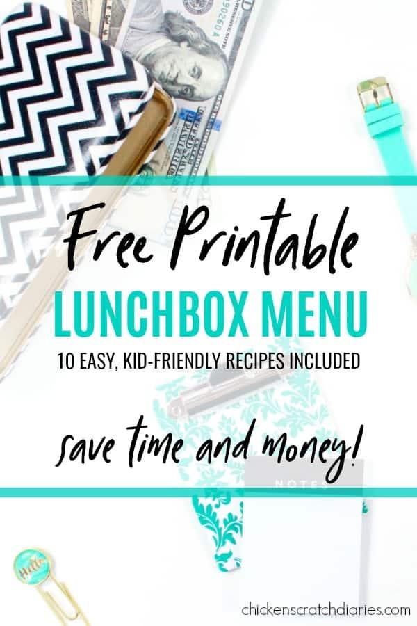 Lunchbox Ideas for back to school - healthy, easy options for busy moms. #BackToSchool #Lunchbox #OrganizingLife #Lunch #SchoolLunchIdeas