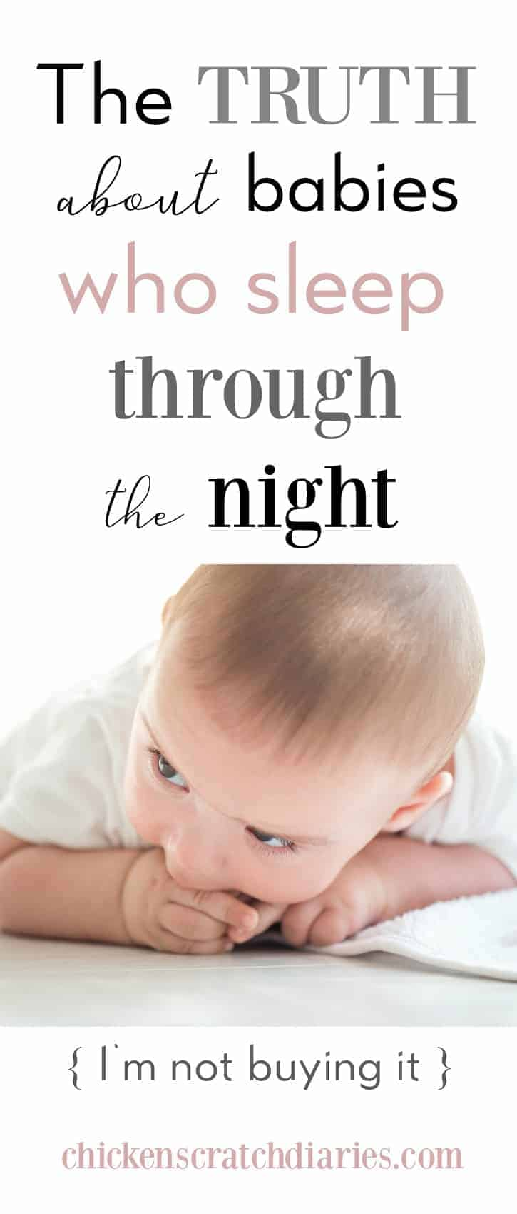 The Truth about Babies Who Sleep Throught the Night