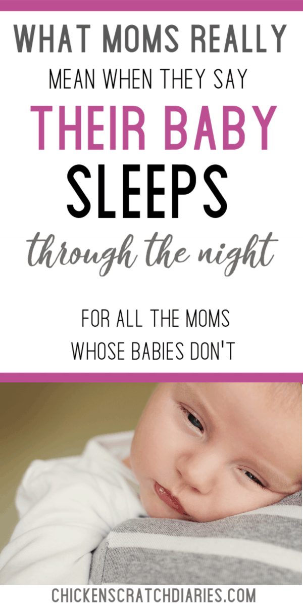 Baby won't sleep at night? You're definitely not alone. Here's what you should know. #BabySleep #ParentingHumor #Babies