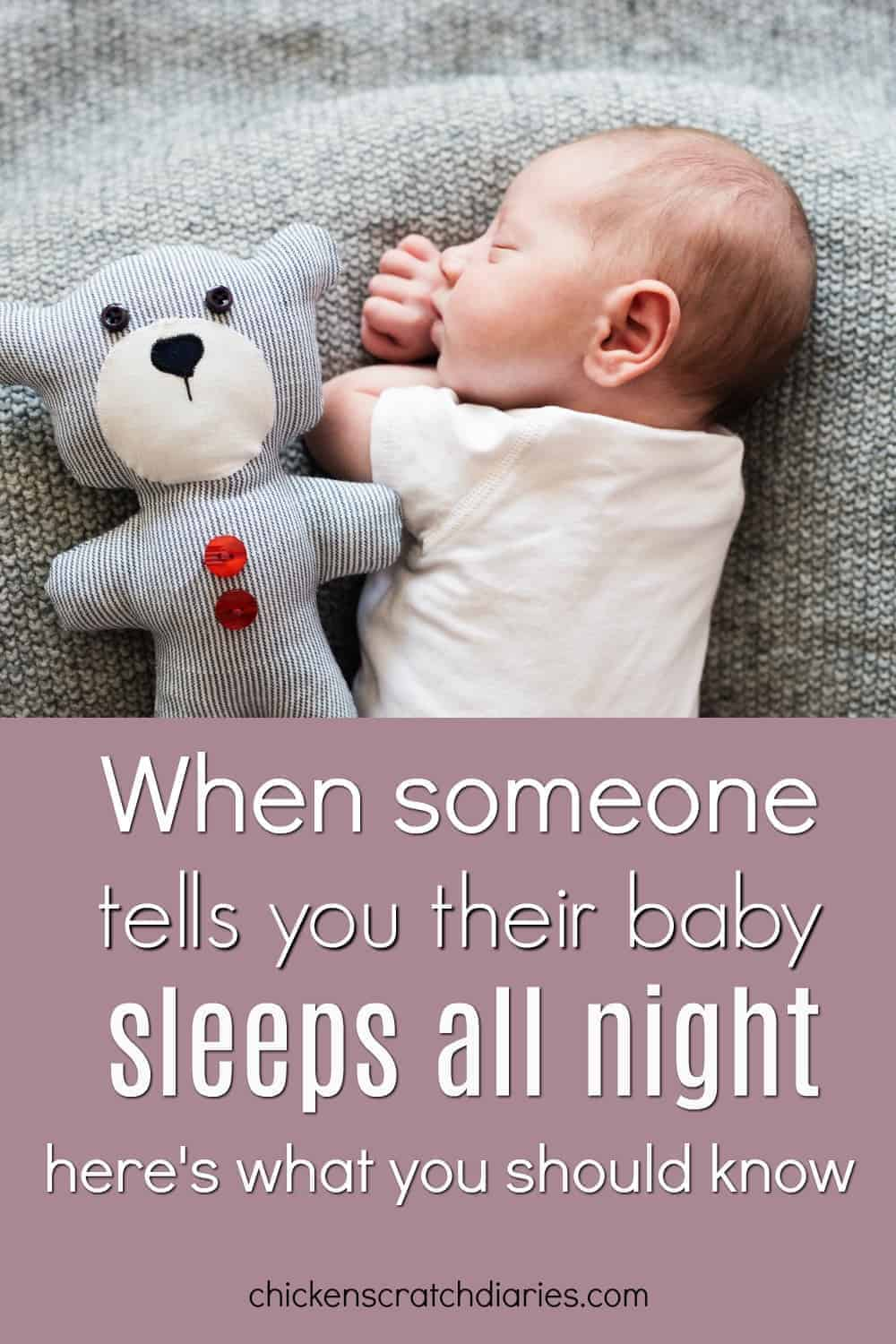 Baby sleep : it's time to crack the code. Here's what you need to know. #Parenting #MomHumor #MomLife #Babies #BabySleep
