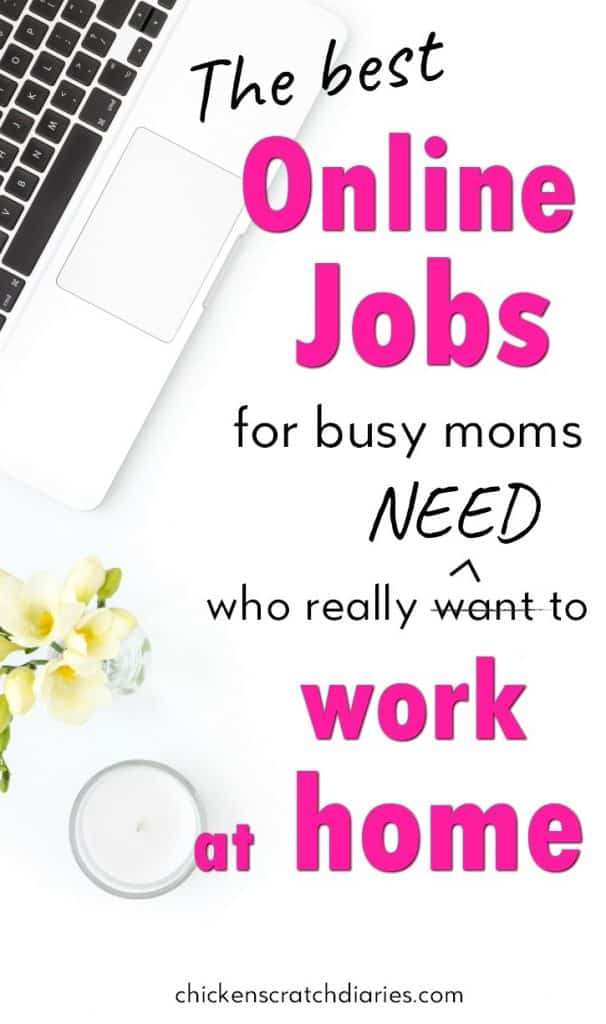 The Best Online Jobs for Busy Moms