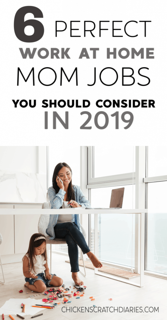 6 legitimate work at home mom jobs that are relevant and in demand this year. #WorkAtHome #WorkOnline#WAHM #Motherhood