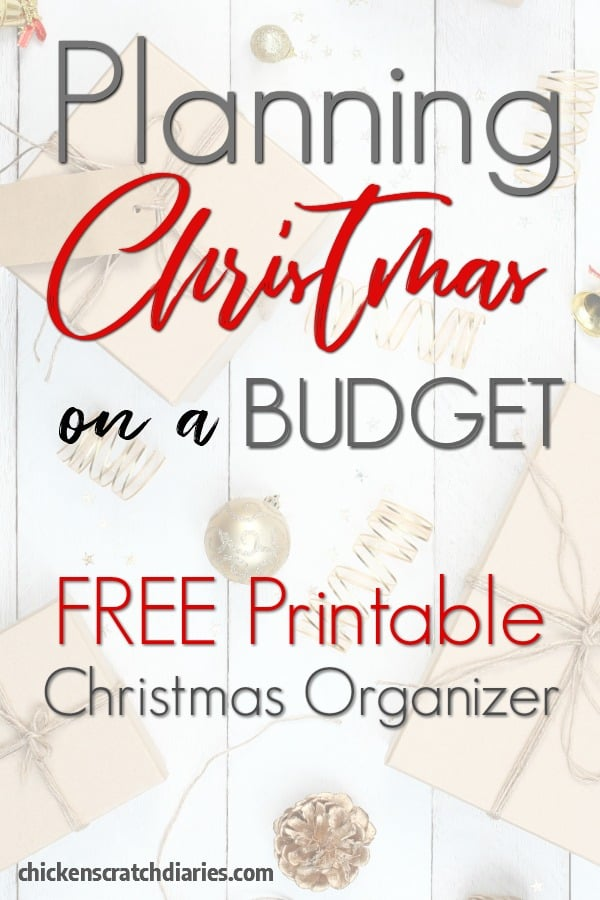 Christmas budget printable - use this planner for Christmas gift shopping and all holiday expenses! Christmas on a budget - it doesn't have to be stressful! #Christmas #Printable #Budget #Shopping #SaveMoney