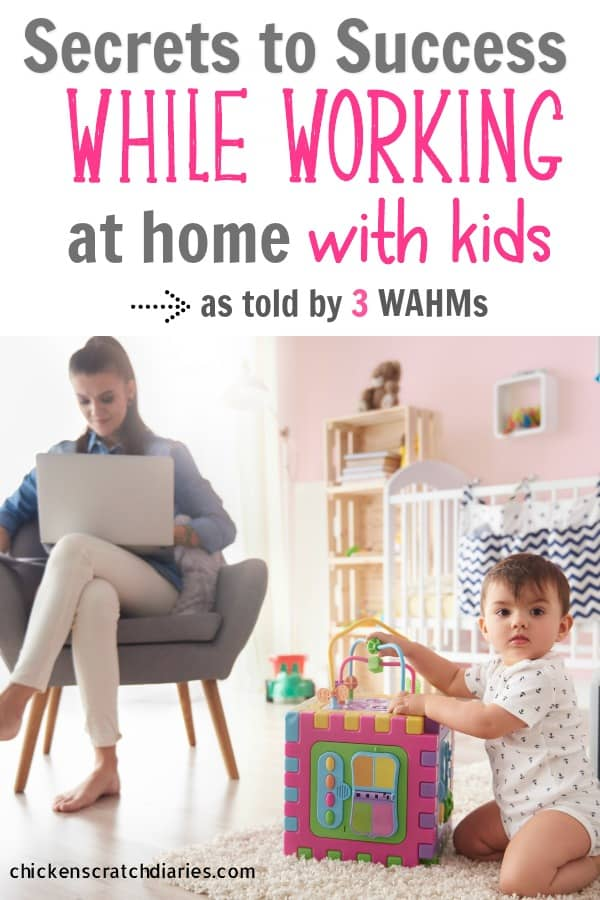 WAHM tips for managing work, kids and home without going nuts! #WAHM #Mompreneur #Parenting #Balance