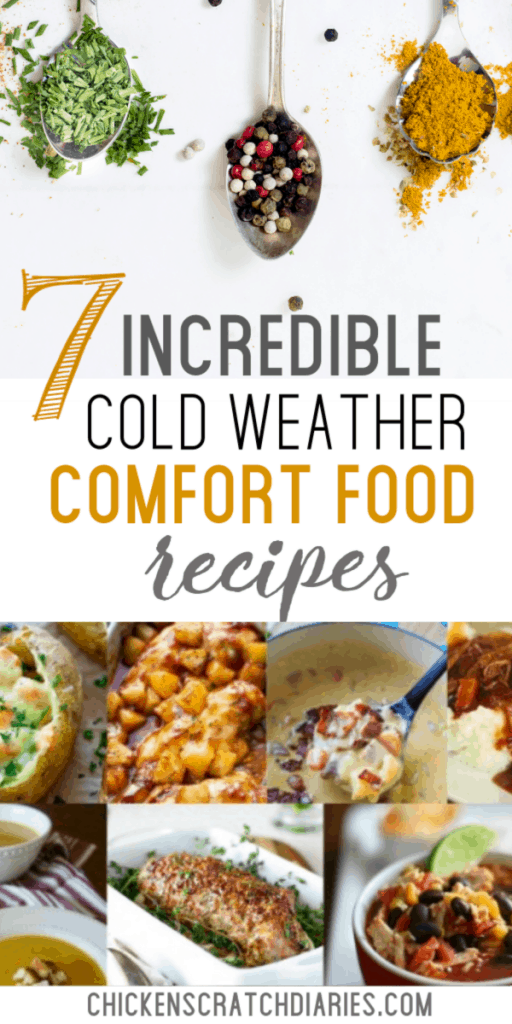 Cold weather comfort food recipes for fall and winter - that your family will ask for again! #Dinner #Recipes #ComfortFood #ColdWeather #Family