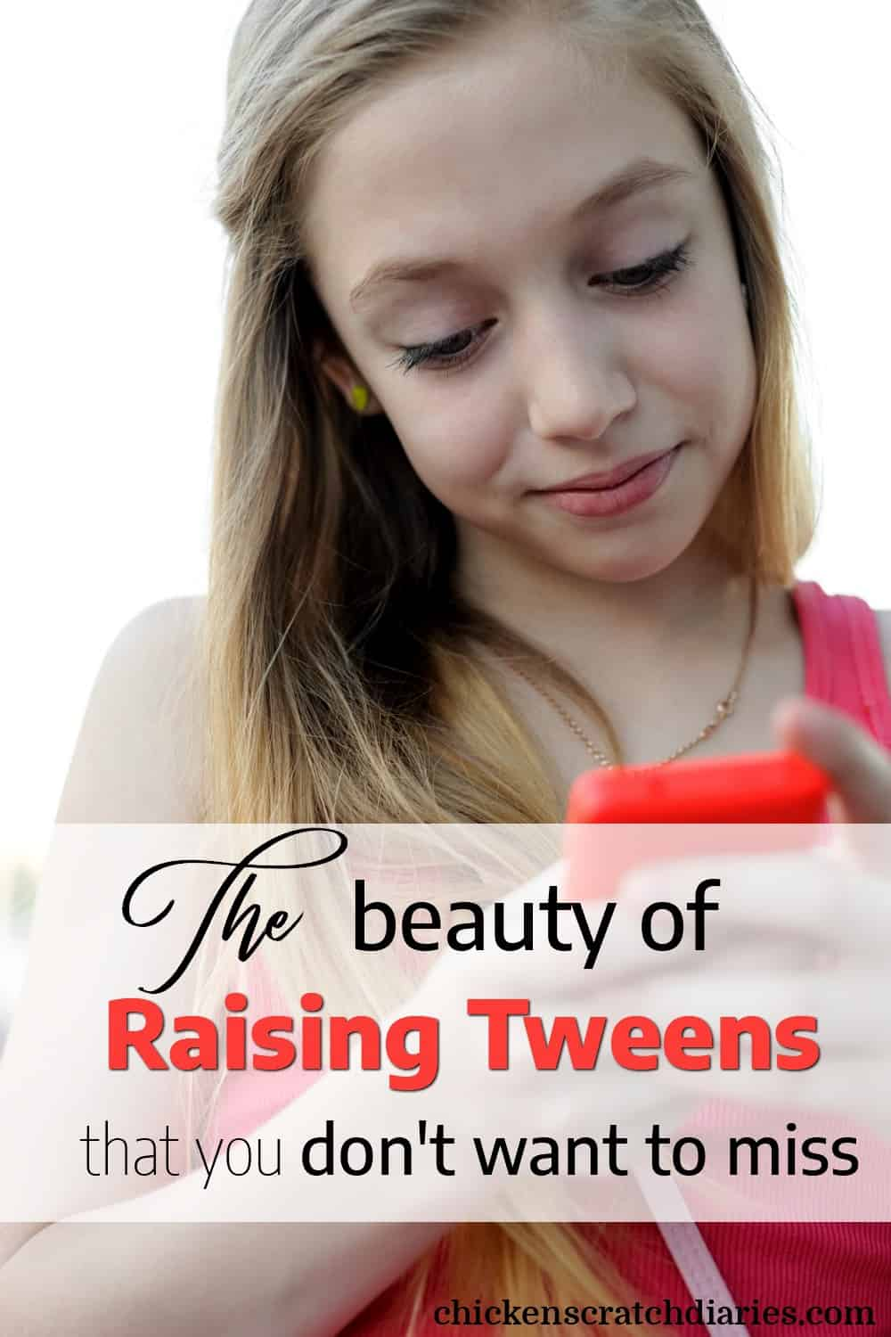 Parenting tween girls presents challenges, but don't miss out on the great things you get to enjoy in this unique stage - the tween years. #Tweens #Parenting #Faith #ChristianMom #Preteen