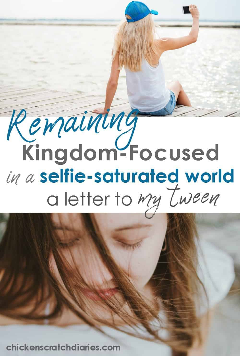 Raising girls with a heart for Jesus and an understanding of her identity in Christ. Words I want to remember to tell my daughter. #Christian #Daughter #Tweens #Faith