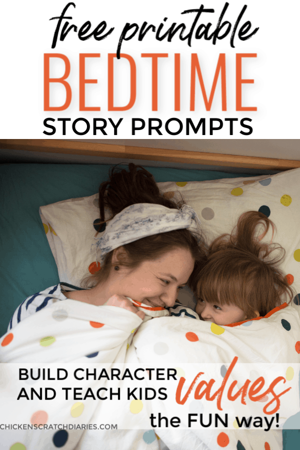 Bedtime story starters: value based stories with morals that make bedtime fun + meaningful! Creative short stories on character building that you can customize for your child and have a fun bonding experience at bedtime. #Values #BuildingCharacter #Bedtime #Stories #Kids
