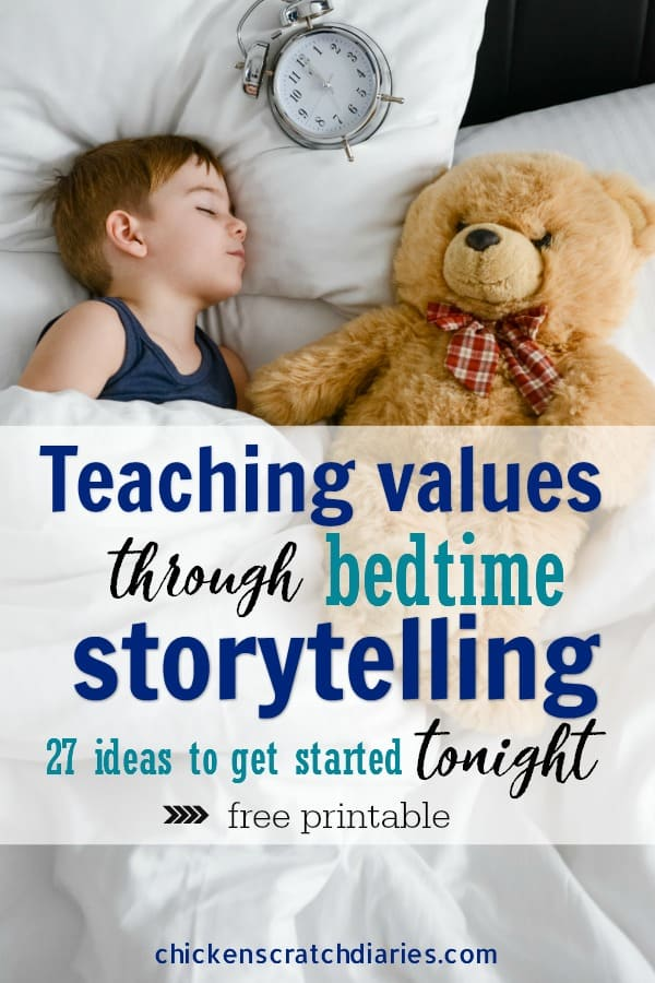 Bedtime routine for toddlers and young kids - to teach values and simplify bedtime! #Bedtime #Routine #Toddlers #Kids #Values #ParentingHacks
