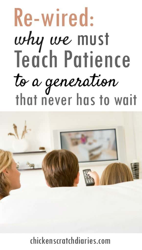 Teaching patience to kids - why it's crucial to instill this value, especially in a generation that experiences everything on-demand (and what's at stake if we fail).