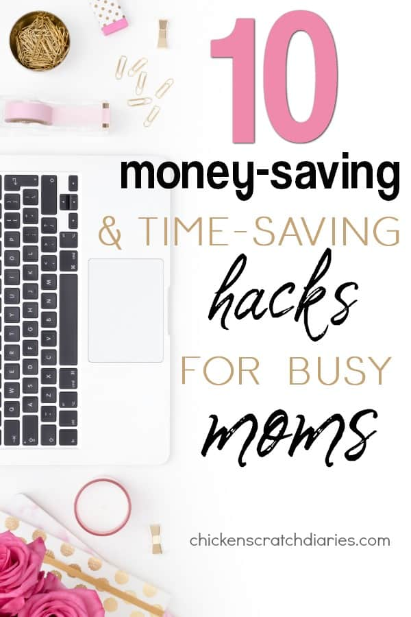 Great ideas for saving money & spending less time doing these 10 tasks later! #Moms #SaveMoney #Family #Organization #ProductivityHacks