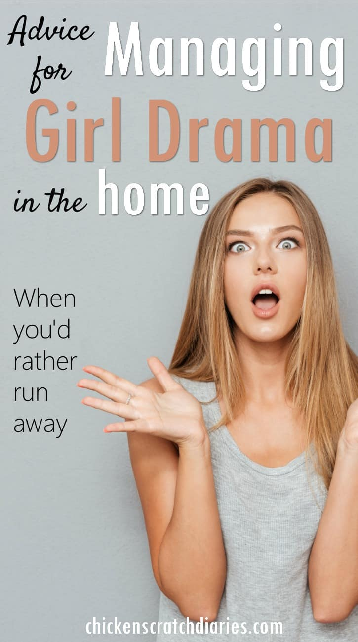 Girl drama guide for parents - this is a must read for moms of girls, especially preteens! #Tweens #GirlDrama #Preteens