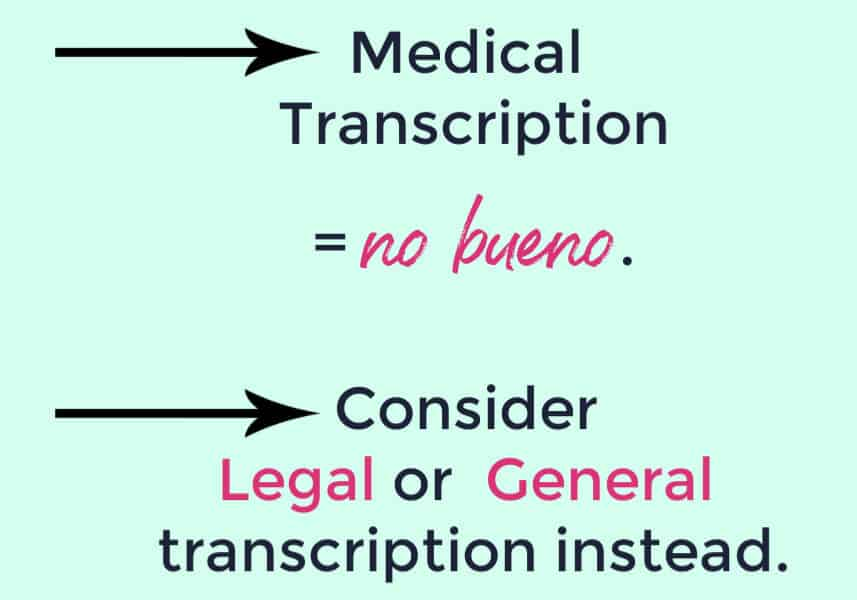 online transcription courses in general or legal transcription
