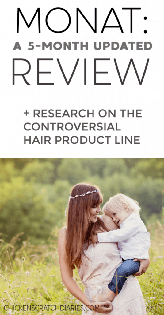 Monat hair product review: before and after, and what you should know before investing in Monat for postpartum hair loss. #Monat #Hairandbeauty #Motherhood
