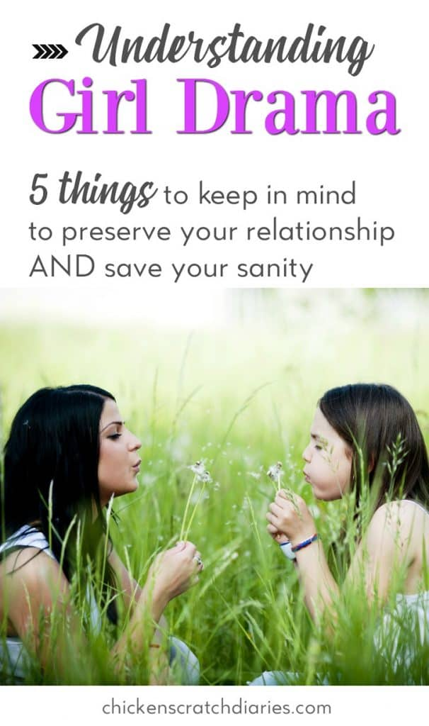 Dealing with preteen attitude? 5 things you should consider when navigating the emotional tides of raising daughters. #Tweens #Emotions #Parenting #Preteens