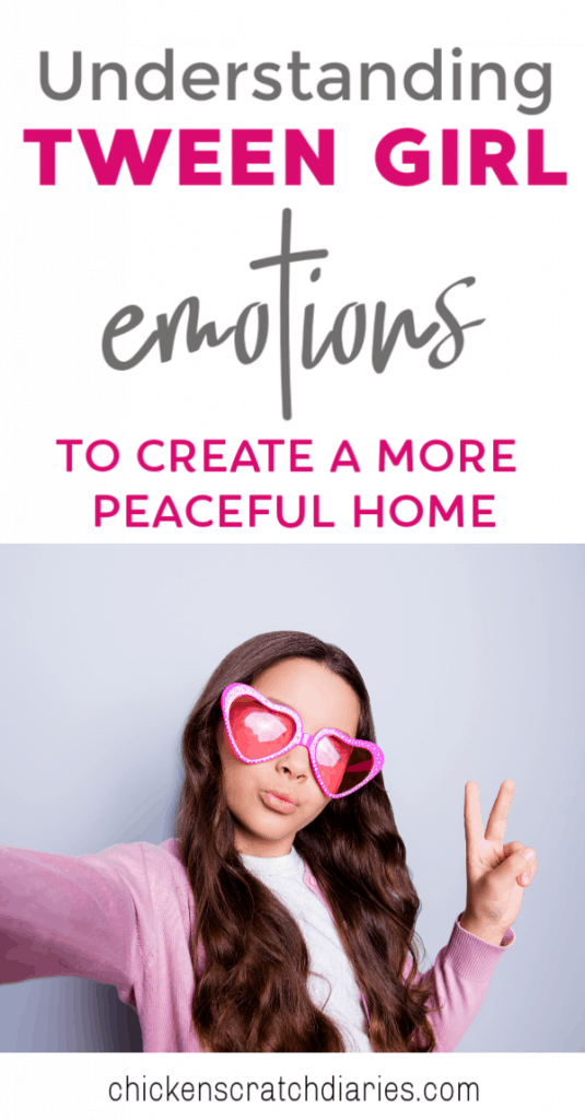 Parenting tweens: what to expect in the middle school years and how to adjust your parenting to be an empathetic anchor in the emotional riptide moments! #Tweens #Parenting #RaisingGirls #Emotions