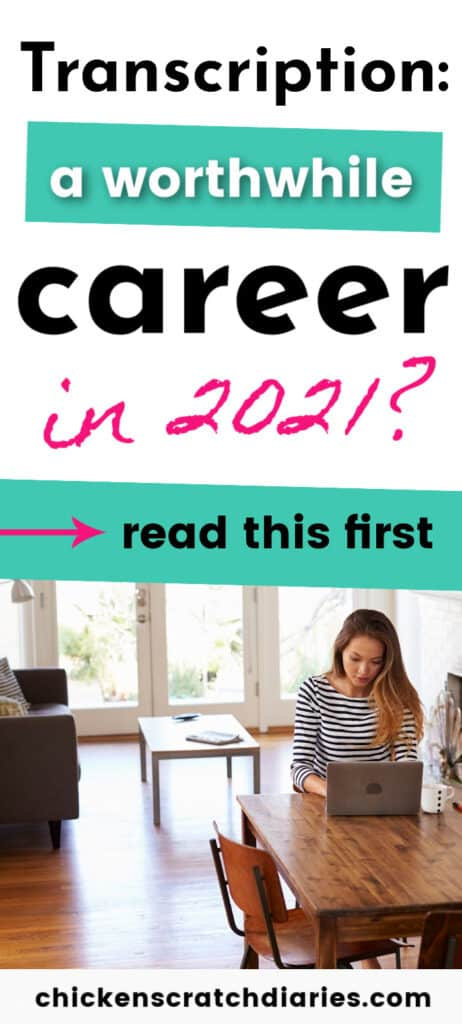 If you're considering training for a career in medical, legal or general transcription so you can work from home- read this first! What aspiring WAHMs really need to know about this field.