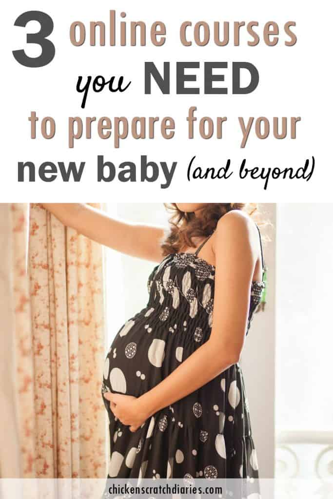 How to prepare for baby - the most important things you can do before baby arrives. Everything you need to know is included in these 3 courses! #Pregnancy #Newborn #Childbirth #Breastfeeding #BabySleep #Prenatal