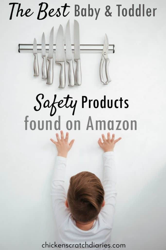 Baby and Toddler Safety Tips: These items are actually really useful- great ideas! #Babies #Toddlers #Safety #MomLife