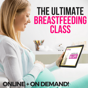 Ultimate Breastfeeding Class- preparing for baby and breastfeeding