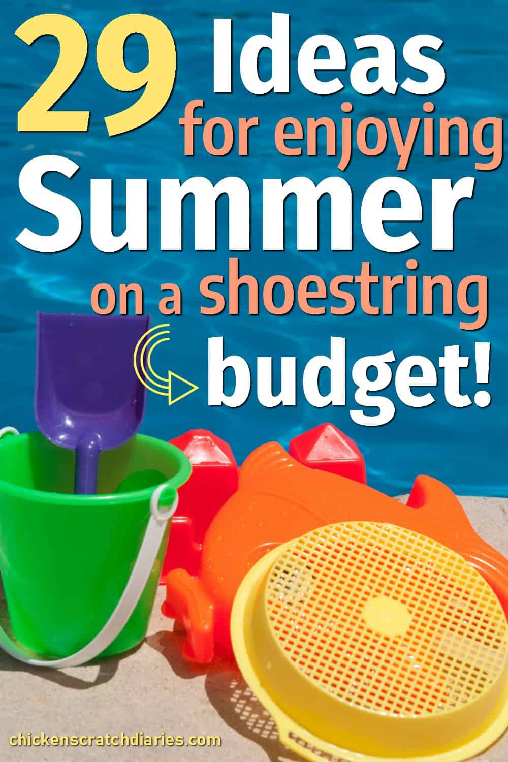Summer activities for kids that are cheap or free- for families on a budget who still want to enjoy summer! #SummerFun #Summertime #Kids #Activities #Family