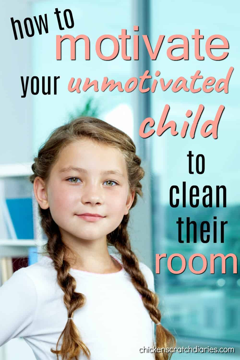 Clean bedroom motivation - what does it take to change your child's perspective on a messy bedroom? #Parenting #Organization #Cleaning #MiddleChild