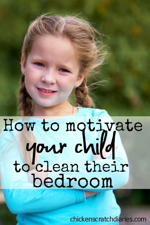 Clean bedroom motivation hacks: if your child has a chronically messy bedroom, here's how to encourage a tidy space! #Parenting #Positive Parenting #Organization #Cleaning