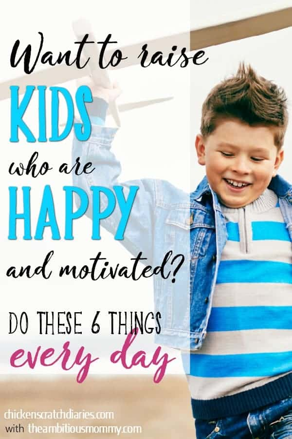 How to raise happy kids who are cooperative and self-motivated - what every parent hopes for IS possible! #HappyKids #IntentionalParenting #MomLife #ParentingAdvice