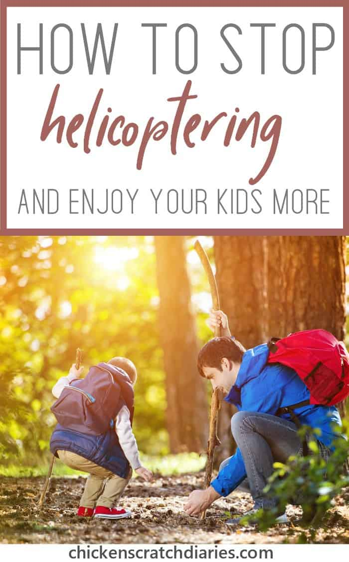 Helicopter parenting is ruining the natural creative abilities of children everywhere. #Parenting #HelicopterParent #IntentionalParenting #RaisingKids