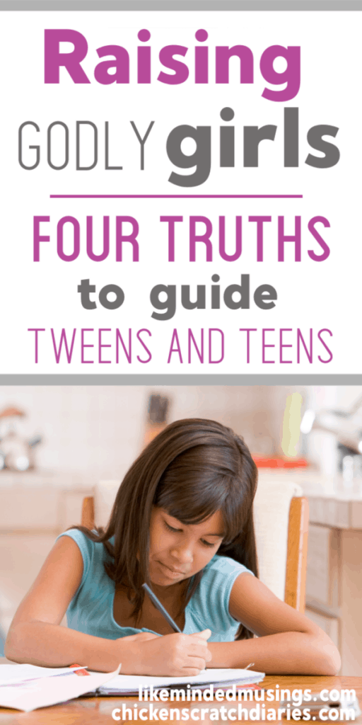What i want my tweens and teens to know about living a Christ-centered life. #ChristianParenting #GodlyGirls #Tweens