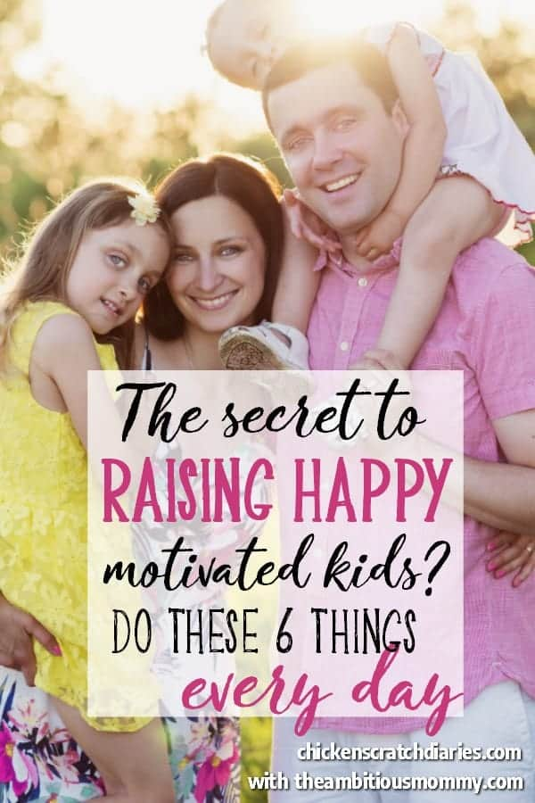 How to raise happy kids who are self-motivated - something we all want, right? Love this insightful guide! #PositiveParenting #HappyKids #ParentingTips #Ideas #Moms