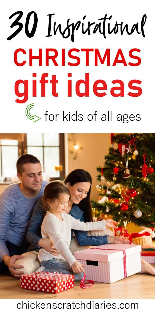 Gift ideas for Christian Kids - popular Christmas gifts your kids will love. (Babies through teens). #Christmas #GiftIdeas #Holidays #Shopping #ChristianParenting