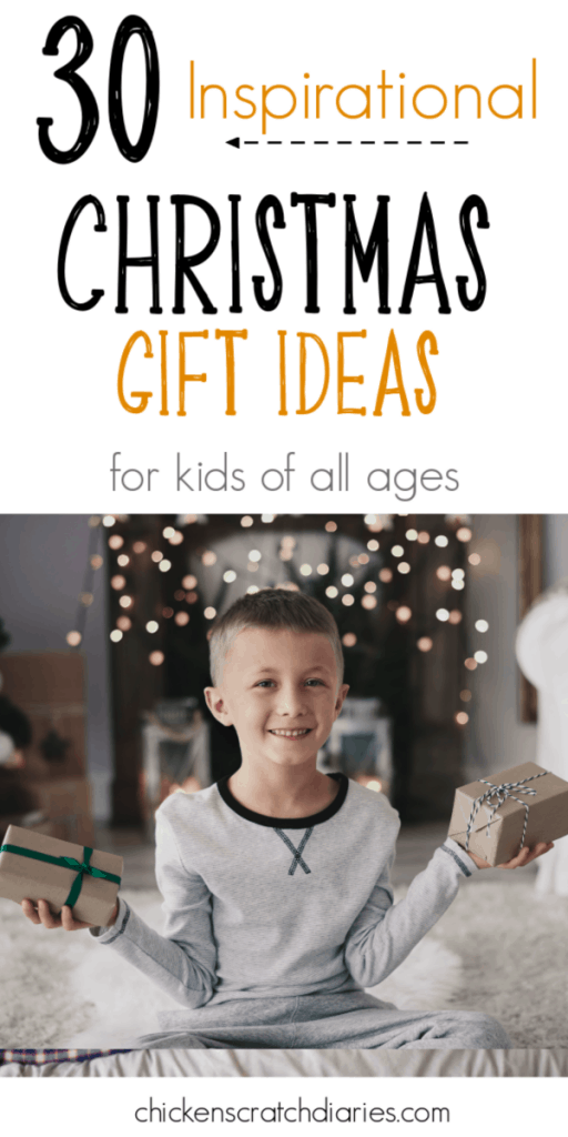 Christian gift ideas for kids (that aren't cheesy! My kids love these). #Christmas #Gifts #GiftGuide #Presents #Holidays #Jesus