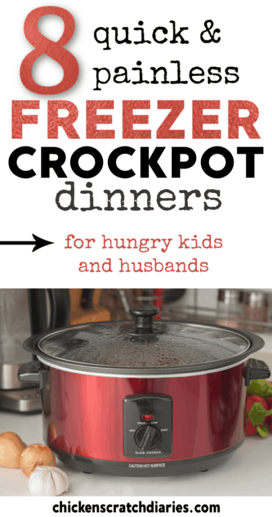 Want to try freezer cooking? These imple, healthy crockpot freezer meals that you can make ahead in one day and enjoy all week! #FreezerCooking #SlowCooker #Crockpot #Dinner