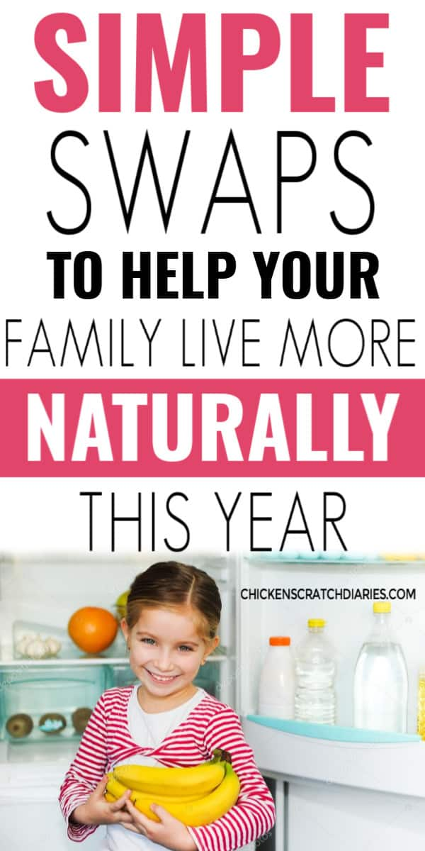 Natural living tips: simple swaps for families