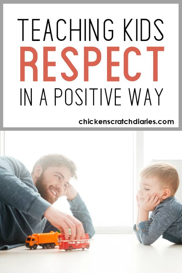Tips for teaching respect to your kids - a positive approach. #PositiveParenting #Respect #Values #ChristianMom #Kids