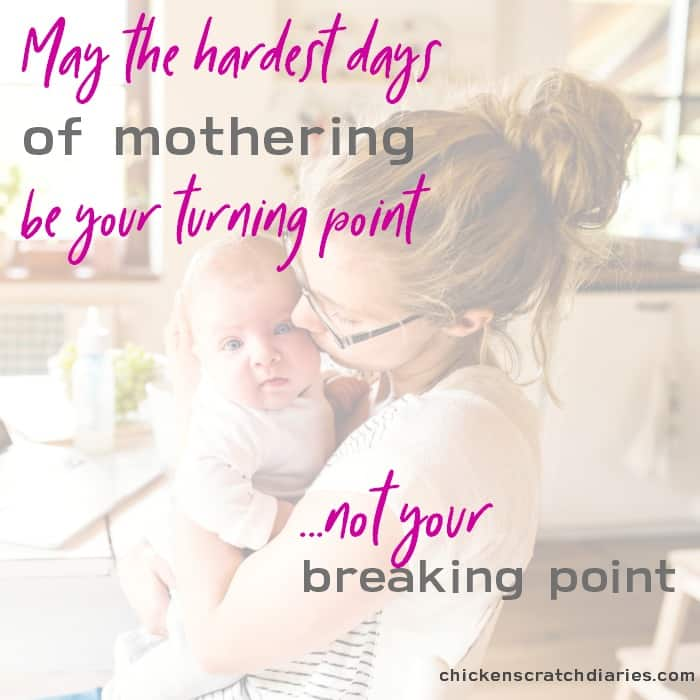 Mom guilt: Let the hard days become a turning point