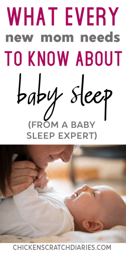 Getting baby to sleep through the night -- what every first time mom should know (I WISH I knew this sooner!) #Baby #Sleep #Parenting #Infants
