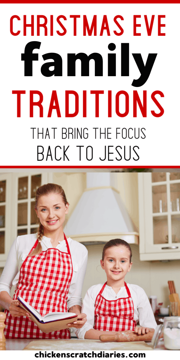 Christmas Eve traditions that put the spotlight on Christ! #Christmas #Traditions #Family #Kids
