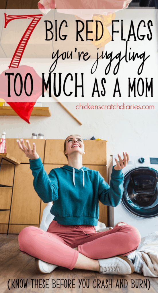 Halting mommy burnout in its tracks: how to spot the warning signs that you're doing waaaay too much (and what to do instead). #MomLife #Motherhood #Burnout #Exhaustion #Balance