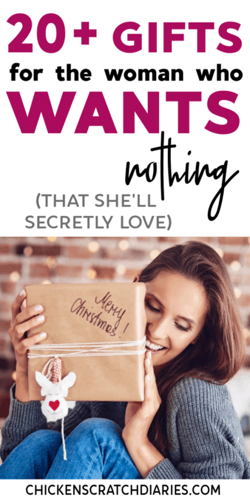 """Useful gifts for practical women who always ask for """"nothing"""" ...but didn't know these needed THESE. #GiftGuide #Holidays #Women #Christmas #Moms"""