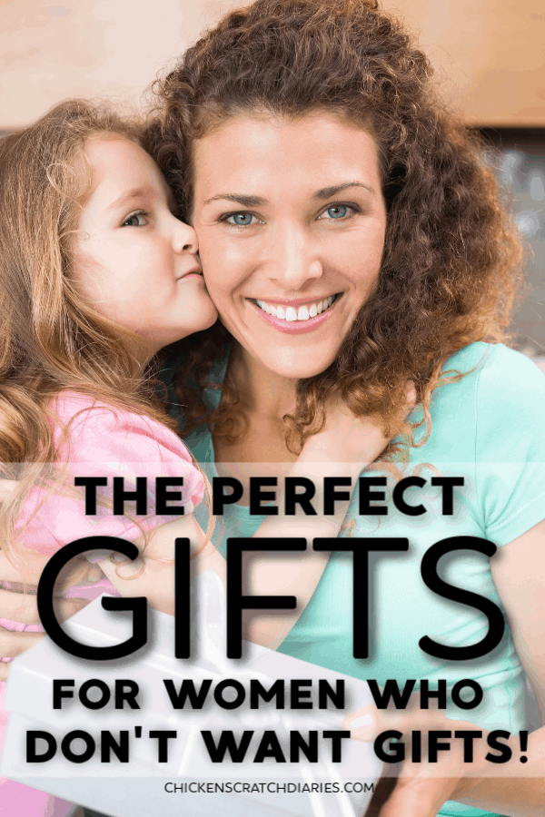 It's hard to find gifts for women who are minimalists, or who have everything, or who are just hard to buy for! Here are 30+ simple gift ideas for women that are practical and useful. #Gifts #Women #Minimalism #Moms #GiftGuides