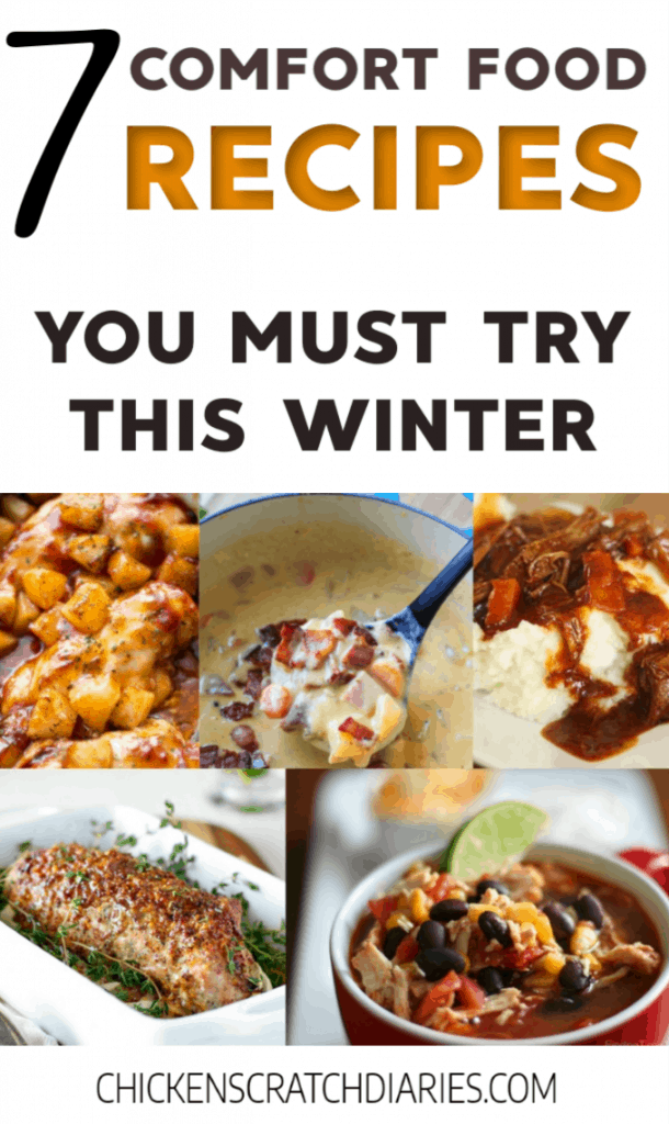 These cold weather comfort foods are a must-try for your dinner menu this winter. #Dinner #Recipes #ComfortFood