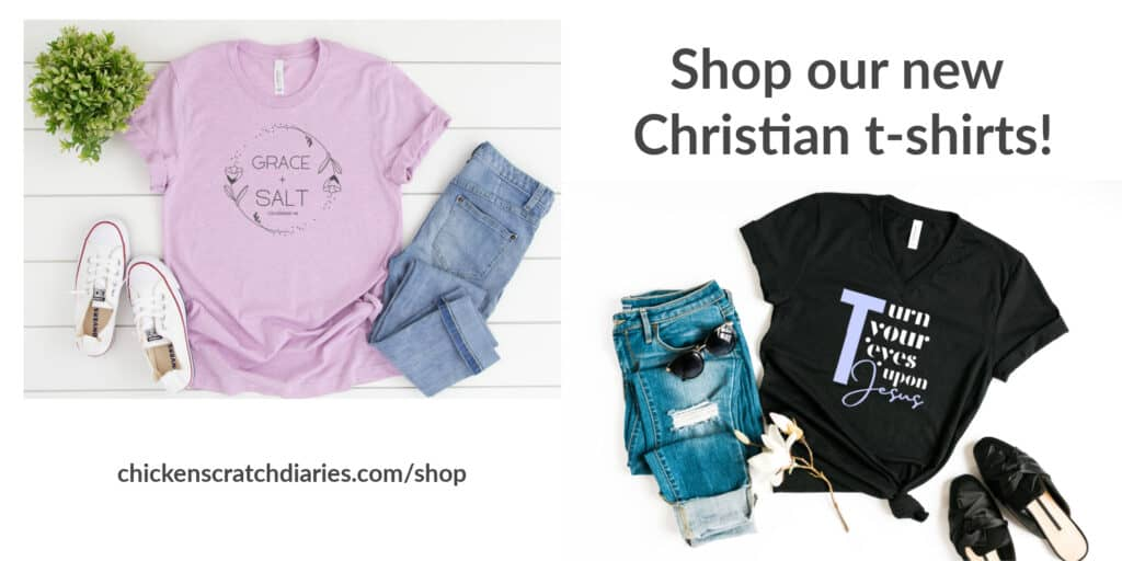 Christian t-shirt shop image